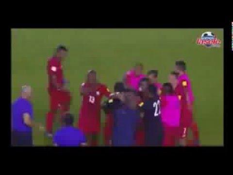 Panama 1 Haiti 0. Narracion por Radio Panama