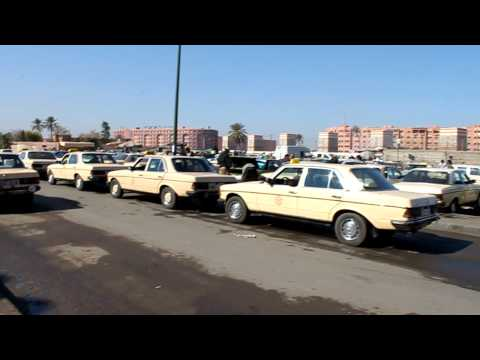 Grand Taxi Departure Marrakech