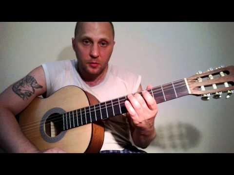 Видеоурок Мелодии на гитаре - видео