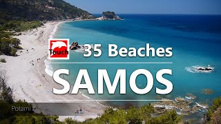35 Magic Beaches of Samos Island, Greece - 11 min.