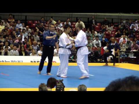 Годерзи Капанадзе (5й чемпионат мира по каратэ киокушинкай г.Токио)