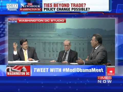The Newshour Debate from Washington, D.C : Trade before ties? - Part 1 (29th Sept 2014)