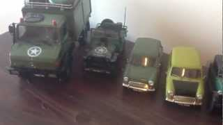 REVELL AND TAMYA 1/24 MODEL CARS INCLUDING MR BEAN MINI model