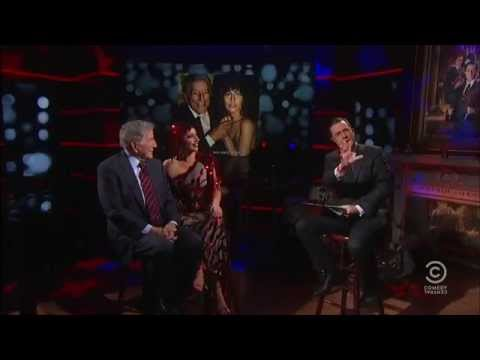 Lady Gaga & Tony Bennett on The Colbert Report (Dec.2) [Full]