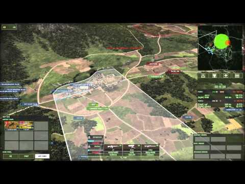 Wargame Red Dragon 2v2 Conquest on Plujing Valley using Scandinavian Deck