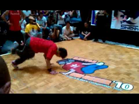 Kid Rainen (Full Force / Jabbawockeez) vs. ATN (Battleborn) Battle Swagger 2010 Las Vegas