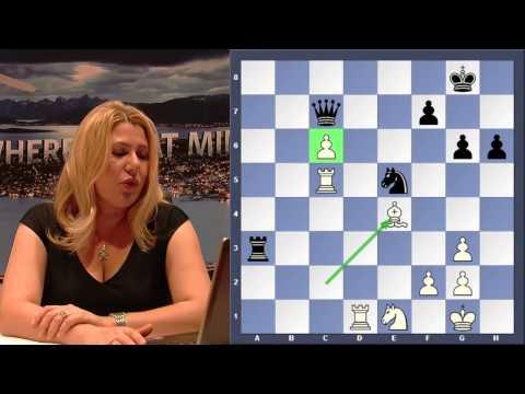 FIDE World Cup 2013: Vladimir Kramnik - Dmitry Andreikin, by Susan Polgar.