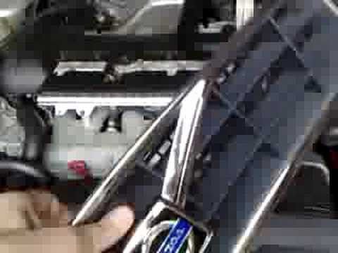 how to remove and install front grille in volvo c70 v70 s70