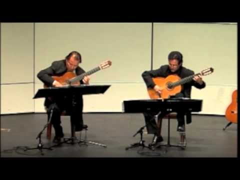 Odeum Guitar Duo - Ferdinand Carulli - Theme, Variations&Finale Op. 96 - May 9, 2011
