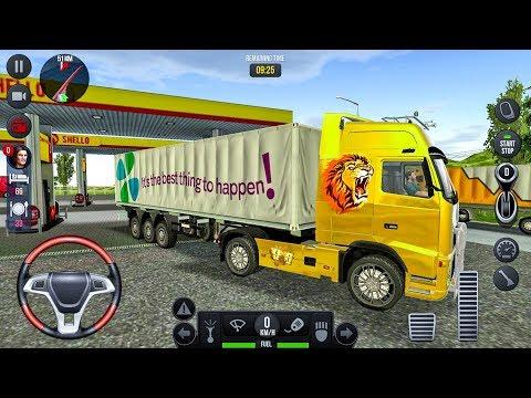 Truck Simulator 2018 Europe #23 - Truck Games Android gameplay