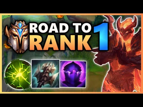 The Hardest Challenge in League of Legends - Road To Rank 1 (#1)