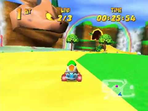 Diddy Kong Racing Walkthrough Pt 14: Taj Car Challenge Video