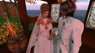 Blue and Jeffv Second Life Wedding - 11.24.26