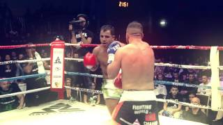 World Fighting League April 3rd 2016 - Chahid Oulad el Hadj vs Mohammed El Messaoudi