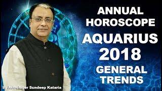 Aquarius horoscope 2018