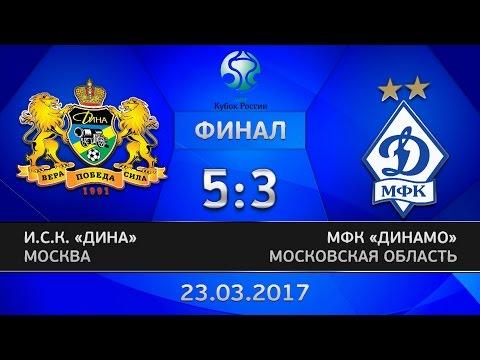 Кубок России. Финал. Дина - Динамо. 5:3