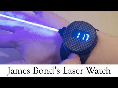 James Bond Laser Watch On The Way : TV5 News