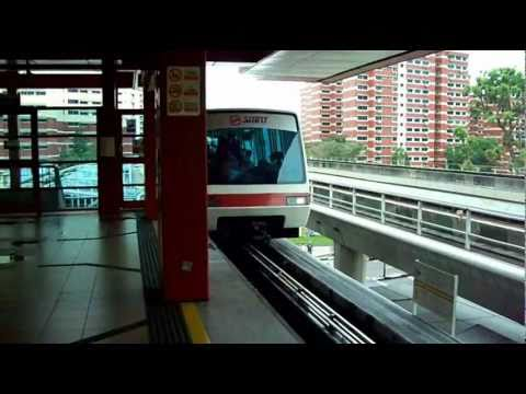 LRT Light Rail in Singapore