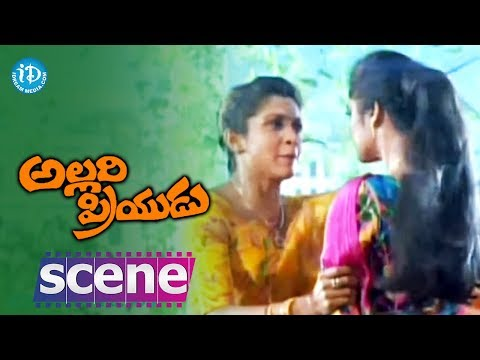 Allari Priyudu Movie Scenes - Ramya Krishna & Madhubala Emotional...