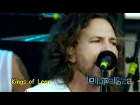 Kings of Leon w/ Eddie Vedder - Slow Night, So Long (Chicago '07) HD
