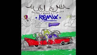 Maluma Becky G Anitta Mala Mía Remix Audio Oficial