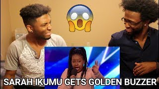 Download Lagu Sarah Ikumu Gets Simon Cowell GOLDEN BUZZER (Britain's Got Talent) (REACTION) Gratis STAFABAND