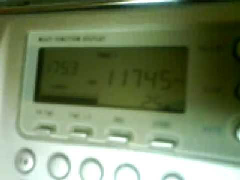 SW Radio Africa, Zimbabwe on 11745KHz