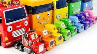 Learning Color Cars Lightning McQueen and Tayo Truck Play for kids car toys