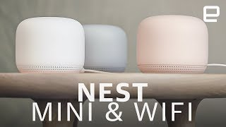 Nest Mini & Wifi hands-on: Big sound from a small package