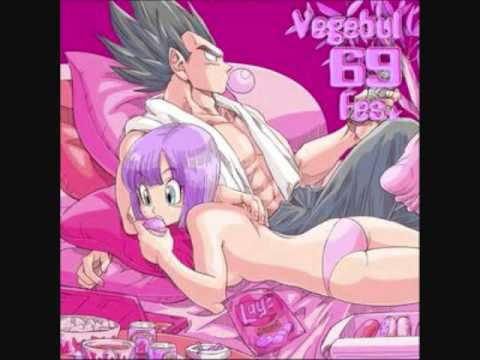 vegeta and bulma  : every time we touch