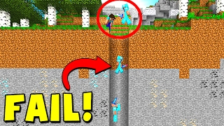 BIGGEST MINECRAFT FAIL IN THE WORLD!