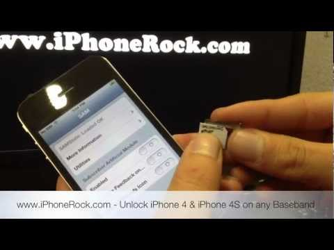 How to Unlock your iPhone 3G, 3Gs, 4, 4s with SAM on Any BaseBand