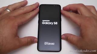 How to Unlock AT&T SAMSUNG GALAXY S8 and S8+ BY Unlock Code