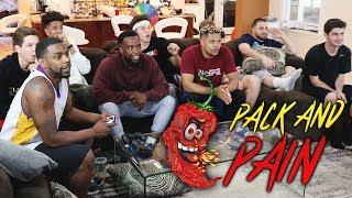 2HYPE PACK AND PAIN! CAROLINA REAPER PEPPER! NBA 2K18