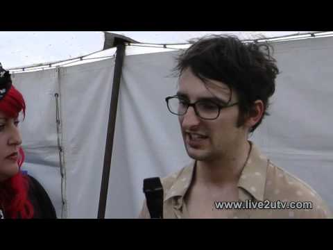 Eagle and the Worm Interview on Live2UTV - Australian Music Interview at The Gum Ball Festival