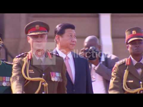SOUTH AFRICA'S ZUMA MEETS CHINA'S XI JINPING
