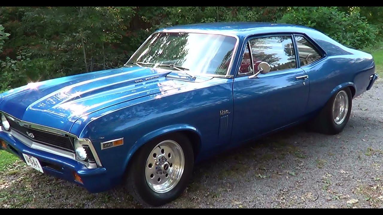 1969 Nova SS 396 Street Rod YouTube