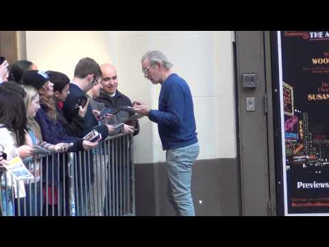 Ian McKellen Signs Autographs For Fans March 22, 2014