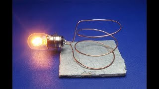 Copper coil using Magnet Free energy - experiment