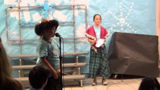 Jamacha Elementary production of Frozen - November 6, 2014