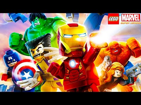 Let's Play: LEGO MARVEL SUPER HEROES!!! - Hike Plays LEGO MARVEL SUPER HEROES