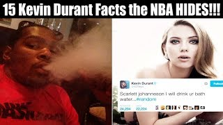 15 KEVIN DURANT FACTS THE NBA IS HIDING!!!