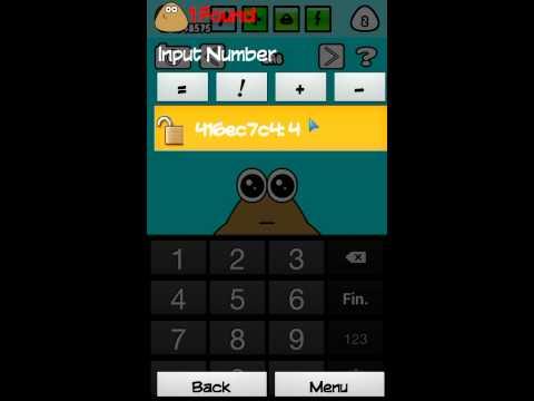 Hack Pou Android  Miles de comida, de pociones y de nivel. >>