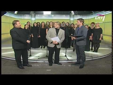 LRT studijoje svečiavosi Lietuvos muzikos ir teatro akademijos merginų choras