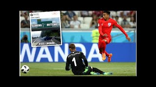 Jesse Lingard savagely trolled by England fans for wayward shooting against Tunisia
