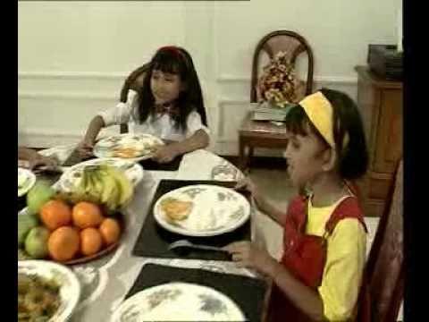 Makan Jangan Bersuara - Lagu Anak-Anak Indonesia.flv