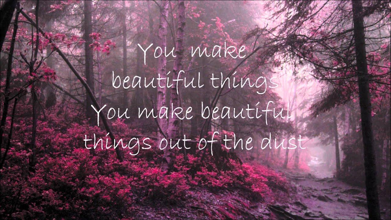 gungor beautiful things lyrics youtube