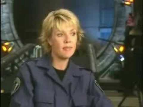 Amanda Tapping Season 8 interview (part 1) Video