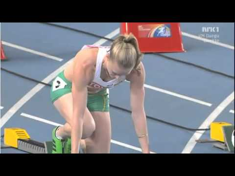 100M Hurdles Final Women Daegu 2011 Sally Pearson 12.28!!