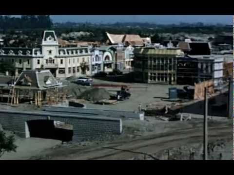 Disneyland in construction